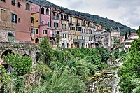 Dolcedo is an old, picturesque mountain village in Liguria near Imperia