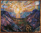 Edvard Munch (1863-1944), The Sun, 1912.  Oslo, Munchmuseet (Munch'S Museum, Art Museum)