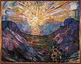 Edvard Munch (1863-1944), The Sun, 1912.  Oslo, Munchmuseet (Munch'S Museum, Art Museum)