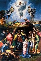 Raffaello Sanzio (1483-1520), Transfiguration.  Città Del Vaticano, Vatican Museums, Picture Gallery