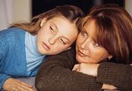 una mamma con la propria figlia