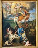 Louis Licherie de Beurie or de Beuron (1629-1687), Saint Louis (King Louis IX) Healing the Plague-Stricken Soldiers, 1678-81, oil on canvas, 79,5x58,6...