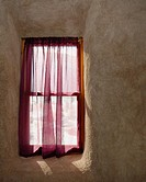 Window in a Straw Bale House