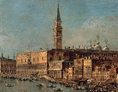 Francesco Guardi (1712-1793), The Return of the Bucintoro.  Copenhagen, Statens Museum For Kunst (National Gallery, Art Gallery)