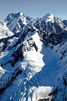 Maximilian Range, Southern Alps, South Island, New Zealand