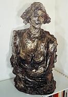 Lucio Fontana (1899-1968). Portrait of Teresita, 1949. Sculpture.  Private Collection