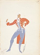 Wolfgang Amadeus Mozart (1756-1791), Così fan tutte, ossia La scuola degli amanti (Thus Do They All, or The School For Lovers) K. 588, 1790. Costume s...