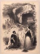 Vincenzo Bellini (1801-1835), Norma, 1831. Poster by A. Chatiniere for a performance at Chateau d'Eau Theatre, 1883.  Paris, Bibliothèque-Musée De L'O...