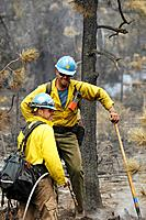 Wildland fire fighters, job well done