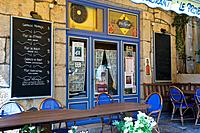 Closed bar, Fayence, Provence, France