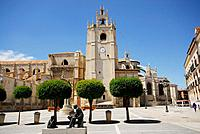 Cathedral of San Antolín in Palencia city, Spain