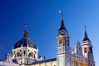 Cathedral of Nuestra Señora de La Almudena, Madrid, Spain