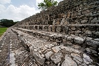 Edzná: Mayan archeological site at Campeche, Mexico