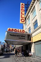 Apollo Theater 125th Street Harlem Manhattan New York City USA