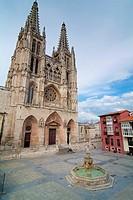 Catedral de Burgos. Spain. Europe.