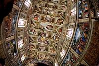 ´Sistine Chapel´  Vatican City, Rome, Lacio, Italy, Europe
