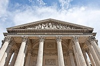 Paris Pantheon, Pantheon de Paris, 5th Arrondissement, Paris, Ile_de_France, France, Europe
