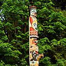 Totem Poles _ Stanley Park, Vancouver, British Columbia