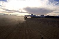 Cloud, Day, Dust, Group Of People