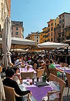 Italy, Veneto, Verona, Piazza delle Erbe