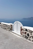 landscape of Oia in Santorini, Cyclades Islands, Cyclades Prefecture, Greece, Europe