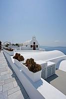 church in Santorini, Cyclades Islands, Cyclades Prefecture, Greece, Europe