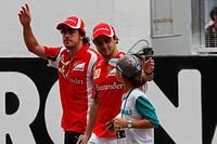 Fernando Alonso ESP, Felipe Massa BRA, Malaysian Grand Prix, Sepang, Malaysia