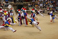 Korean Folk Village, folk customs dance music, agriculture easiness, Suwon, South Korea, Asia