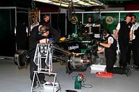 Heikki Kovalainen, Testing, Circuit de Catalunya, Barcelona, Espanha