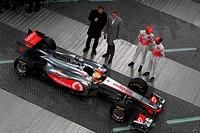 Lewis Hamilton GBR, Jenson Button GBR, Launch McLaren Mercedes, Berlim, Germany, 2011