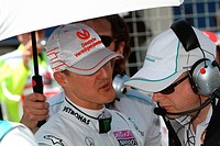 Michael Schumacher GER, Turkish Grand Prix, Istanbul, Turkey