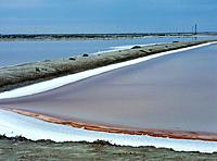 Salt farm, Camargue, France