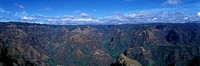 SCENIC WAIMEA CANYON KAUAI HAWAII USA