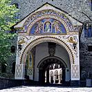 Doupnista gate at Rila monastery.