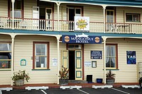 Mangonui Hotel built in 1905 in Bay of Islands
