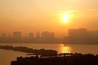 Cityscape of Shinagawa, Tokyo Prefecture, Honshu, Japan