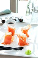 Salmon Sushi Appetizer