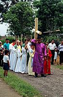 During Easter known which is known as Semana Santa or Holy Week,there are many parades throughout Costa Rica that reenact all stages of Christ´s way t...