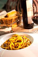Traditional Tuscan noodles