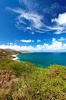 The Caribbean island of Saint Kitts