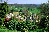 Lanhydrock House was built during the Victorian times although parts of it date back to the 17th century.
