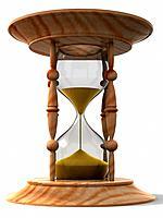 Hourglass. 3d