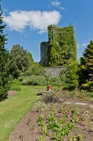 Castle Kennedy & walled garden near Stranraer, Dumfries & Galloway, Scotland, UK