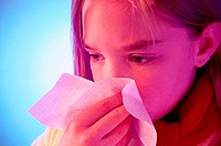 CHILD WITH RHINITIS