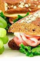fresh organic sandwich