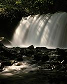 Choshi fall, long exposure, Towada city, Aomori prefecture, Japan