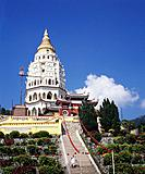 The Kek Lok Si Temple is also known as the Temple of Supreme Bliss is a Buddhist Temple. Construction began in 1893 and was completed in 1930. It has ...