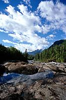 On Vancouver Island,Strathcona Provincial Park is a rugged wilderness and national park of more than 250,000 hectares