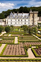 Villandry, Loire valley, France, Europe