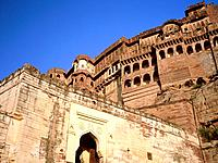Mehrangarh Fort,located in Jodhpur city in Rajasthan state is one of the largest forts and a famous tourist destination in India. The fort is situated...